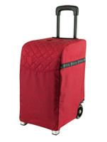 ZUCA PRO TRAVEL BAG - RUBY INSERT AND SILVER FRAME