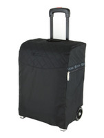 ZUCA TRAVEL BAG - FLYER BLACK INSERT  AND SILVER FRAME