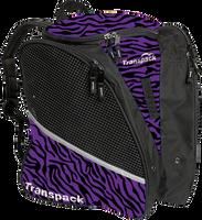 Transpack Ice Skating Bag - Purple Zebra