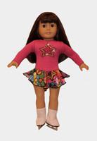 """18"""" Doll Ice Skating Dress"""