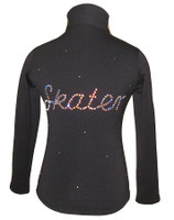 "Ice Skating  Jacket with ""Skater"" applique"