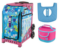 Zuca Sport Bag - BE ZAPPY + FREE Lunchbox and Seatcover