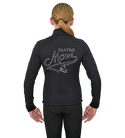 ChloeNoel J11 X Solid Polar Fleece Fitted Jacket - Skating Mom