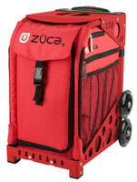 Zuca Sport Bag - CHILI with Red Frame