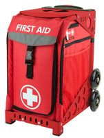 Zuca Sport Bag - FIRST AID with Red Frame