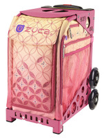 Zuca Sport Bag - SUNSET with Pink Frame