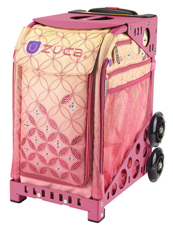 Zuca Sport Bag Sunset With Pink Frame