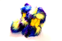 Crazy Fur Soakers - 03GCF - Glitter Crazy Fur - Yellow, Blue & Purple