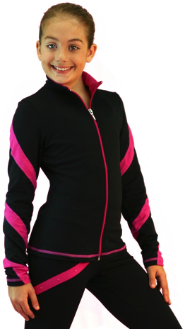 ChloeNoel J36 Spiral Skate Jacket