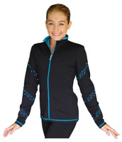 ChloeNoel JS96 Crystal Spiral Jacket
