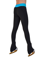 ChloeNoel PS35 3Inch Supplex Black & Color Waist Band Skate Pant