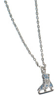 Jerry's #1280 Ice Skate Necklace (Blue)