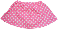 ChloeNoel K01 Aline Skate Skirt FUCHSIA DOT (ADULT SMALL)