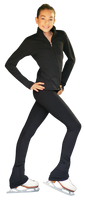 ChloeNoel PS735 Solid Over-the-hill Skate Elite Pants with Front Pocket