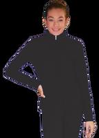 ChloeNoel JT811 Solid  Fleece Fitted  Elite Jacket w/ Thumb Holes