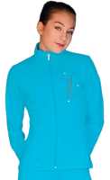 ChloeNoel JT811 Solid  Fleece Fitted  Elite Jacket w/ Mini Jump Skater Crystals Combination