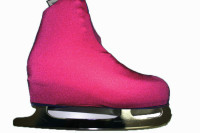 Images on Ice - Boot Cover Hot Pink