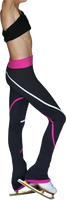 ChloeNoel P618F 2-Tone Piping Light Weight Fleece Pants