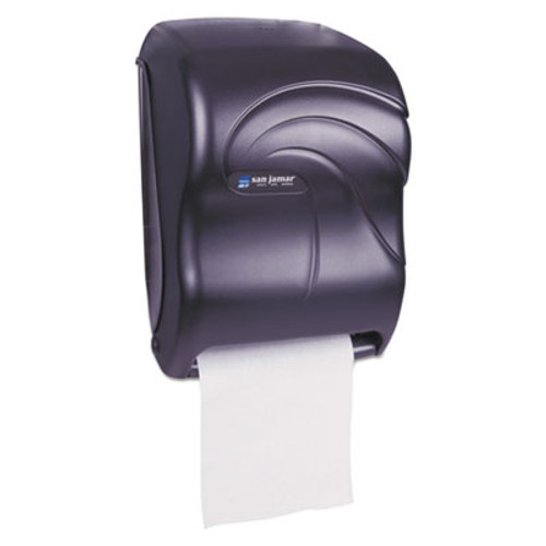 San Jamar Oceans Tear-N-Dry Touchless Touchless Towel Dispenser - Black Pearl
