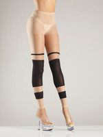 Block Stripe Footless Tights