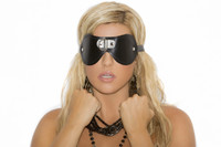 Leather D-Ring Blindfold