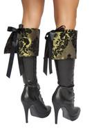 Brocade Boot Cuffs
