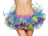 Rainbow Sequin Petticoat