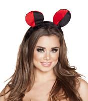 Red and Black Ladybug Headband