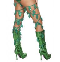 Green Leaf Thigh Wraps