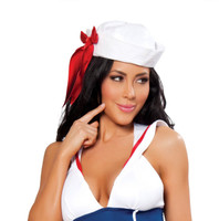 Sailor Hat with Ribbon