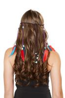 Brown Indian Headband