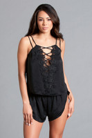 Strappy Cami and Shorts Set