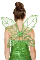 Glittery Green Fairy Wings