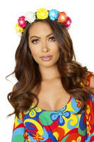Colorful Floral Light-Up Headband