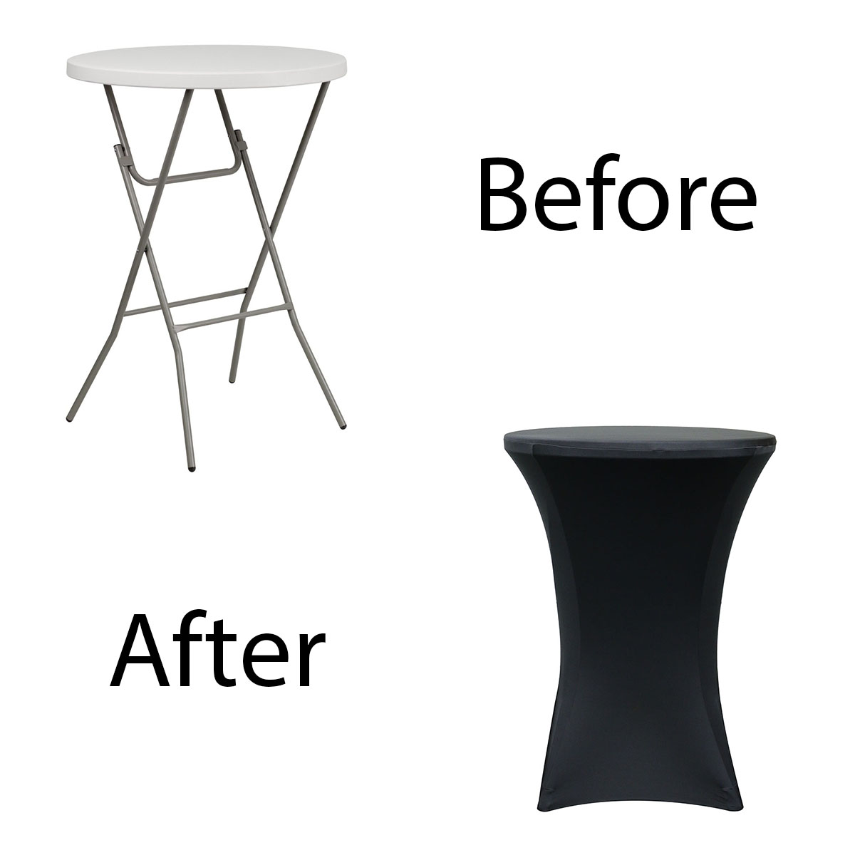 32-inch-highboy-cocktail-spandex-table-covers-black-before-after.jpg
