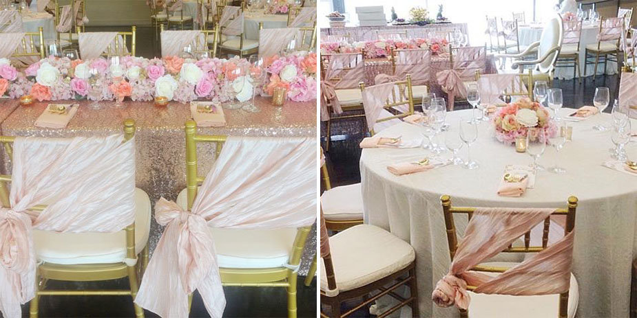 Photos Beautiful Blush And Sequin Bridal Shower By Var