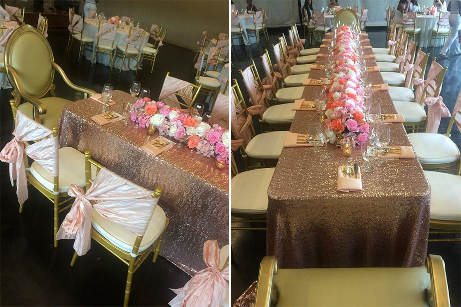 Bridal Shower Decor I Love The Glitter Table Cloth Would Have To Be Silver