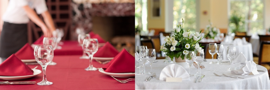 Catering Tablecloths and Napkins