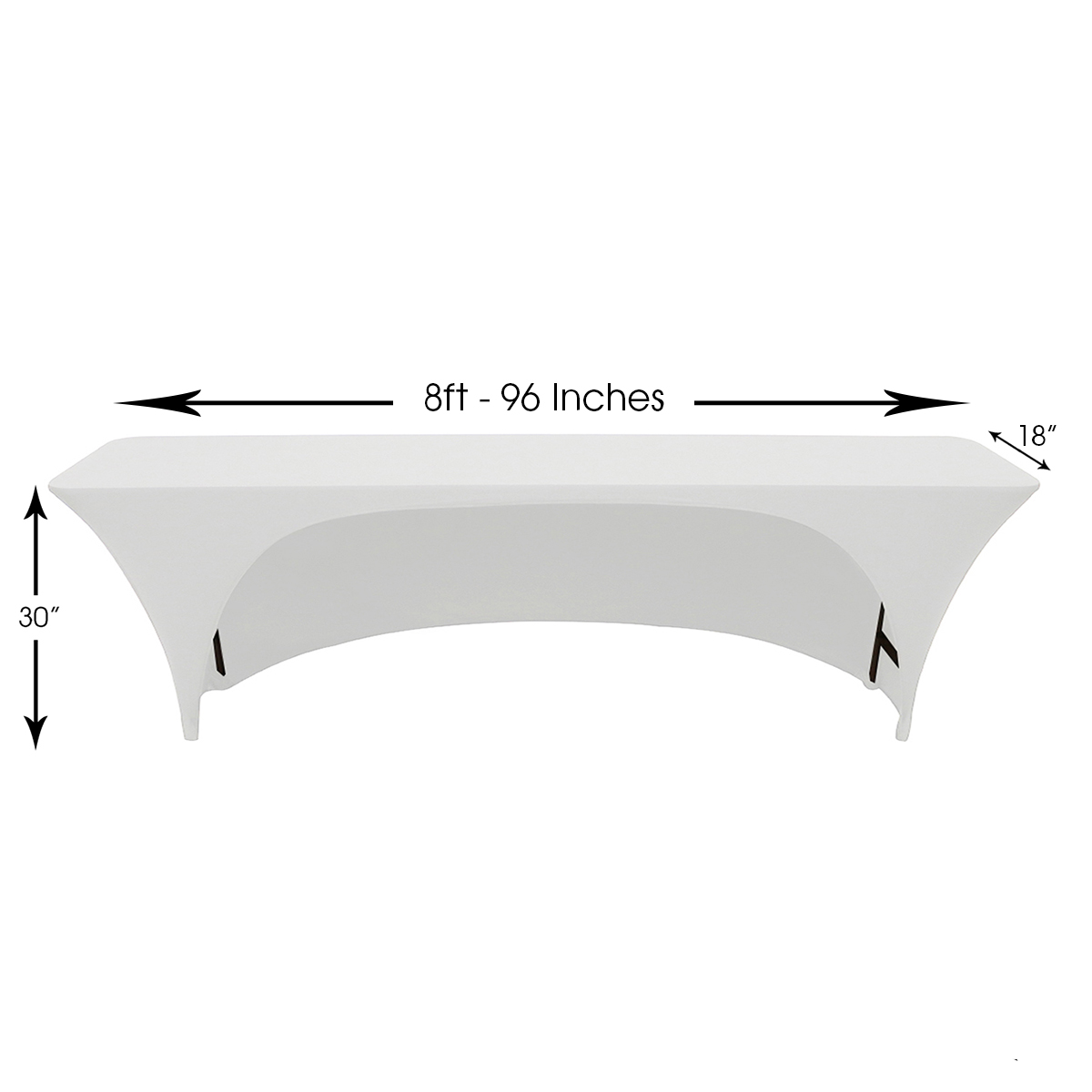 stretch-spandex-8ft-18-inches-open-back-rectangular-table-covers-white-dimensions.jpg