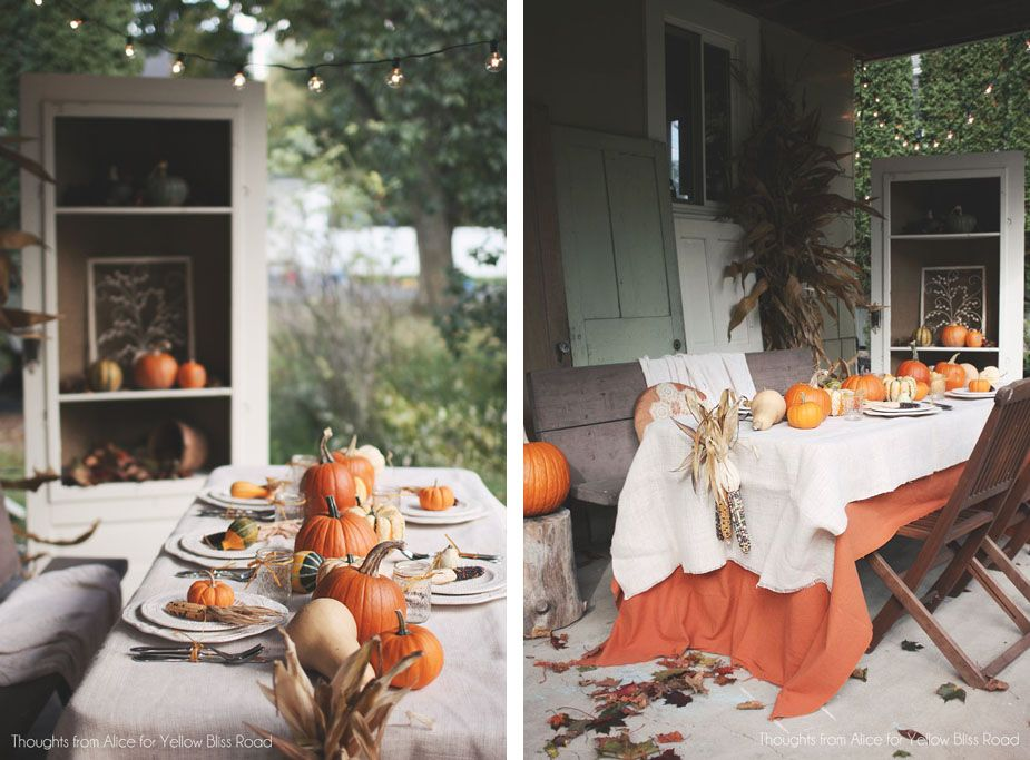 7 Stylish Thanksgiving Tablescape Ideas Your Chair