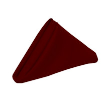 20 inch Polyester Cloth Napkins Burgundy