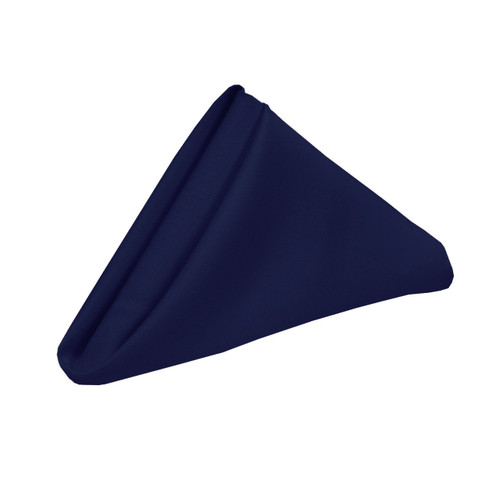 20 inch polyester cloth napkins navy blue