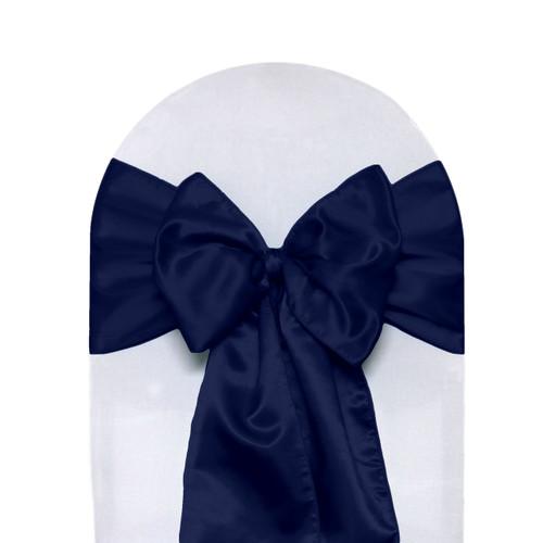 Satin Sashes Navy Blue