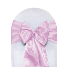 Satin Sashes Pink