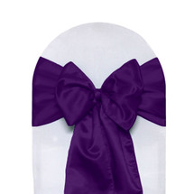 Satin Sashes Purple