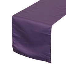 Purple Table Runners, Lamour Table Runners for Weddings and Events