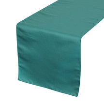 Teal Table Runners, Lamour Table Runners for Weddings