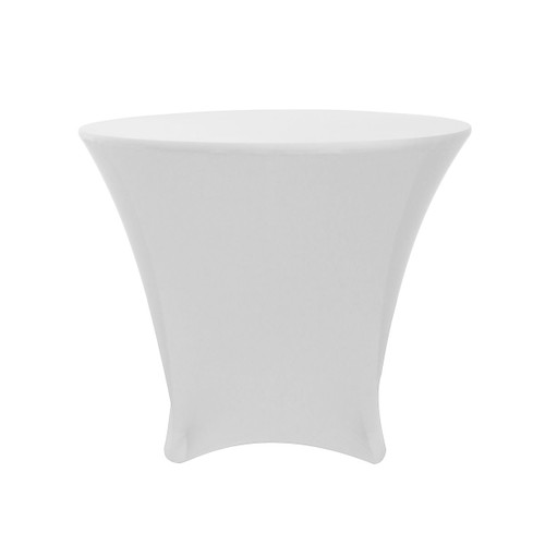 36 X 30 Inch Lowboy Cocktail Round Stretch Spandex Table