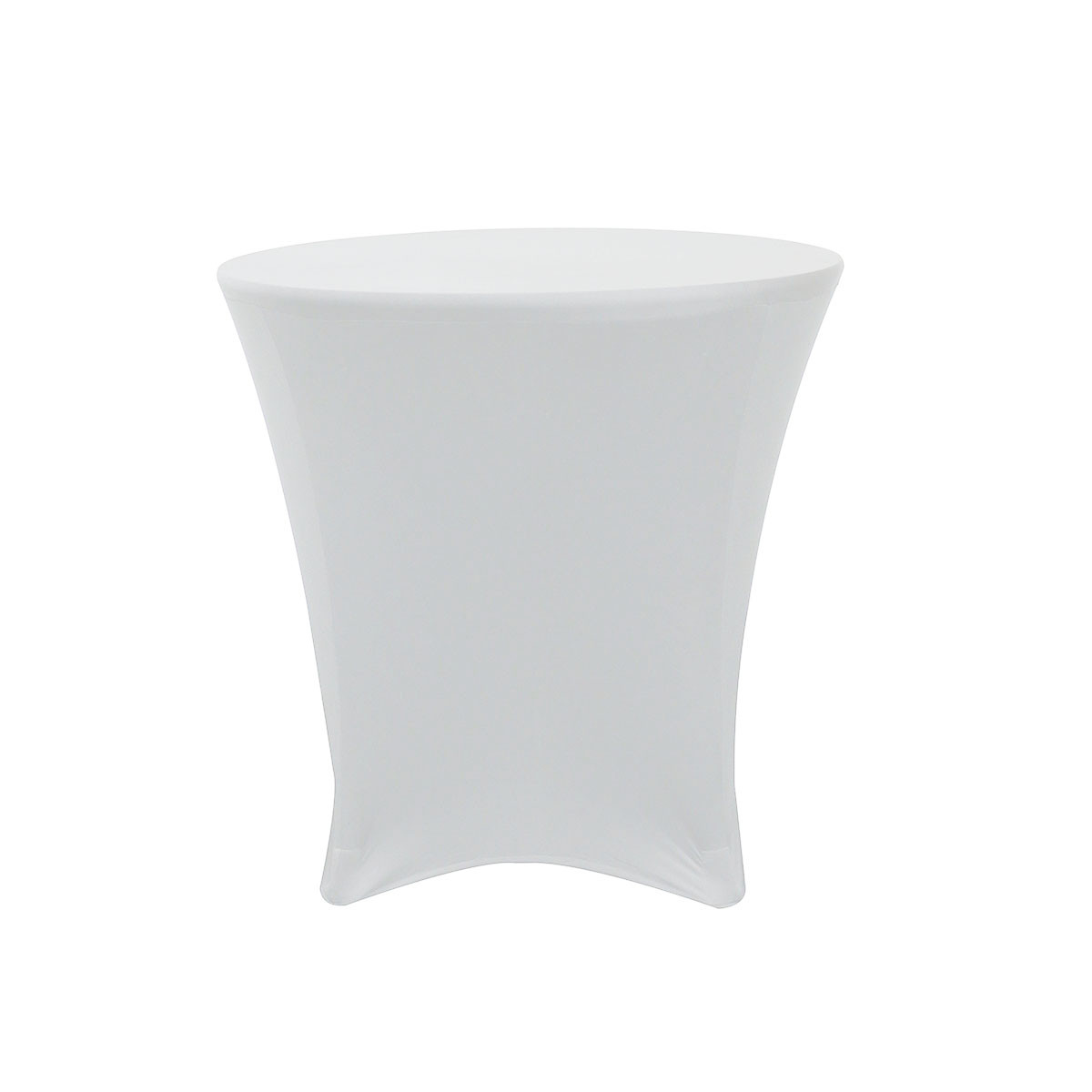 30 X 30 Inch Lowboy Cocktail Round Stretch Spandex Table