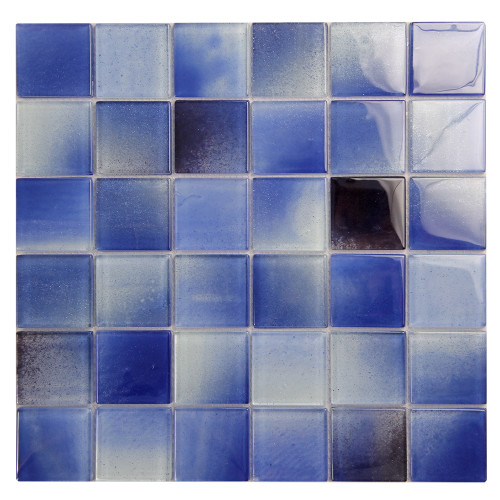 Extant Blue 2x2 inch Pool Mosaic Glass Tile